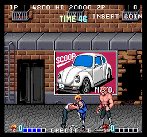 1987, Double Dragon, Technōs