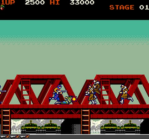 1985, Green Beret, Konami