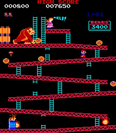 1981, Donkey Kong, Nintendo