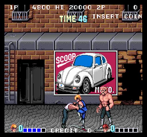 1987, Double Dragon, Technōs