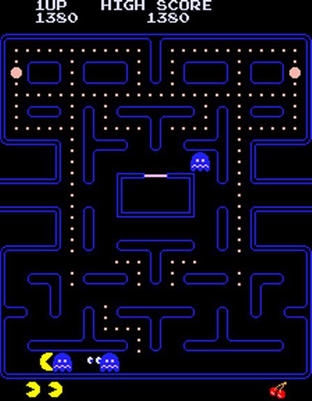 1980, Pac-Man (oryginalnie Puck-Man), Namco