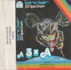 3xA - Cassette inlay front